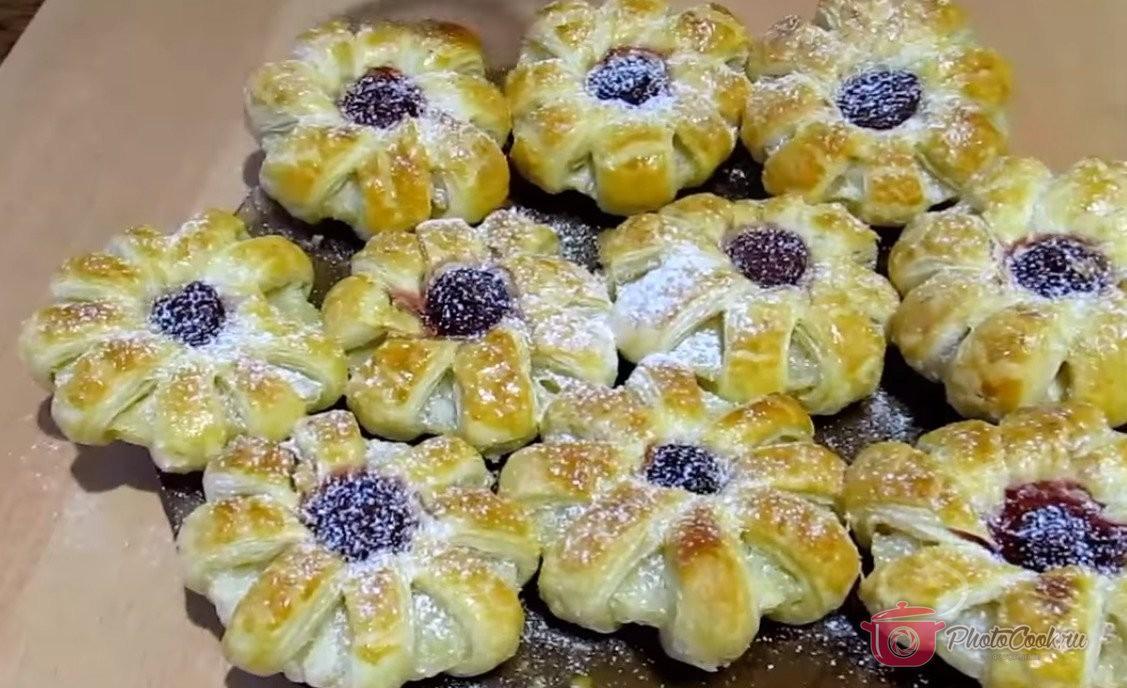 Печенье «Ромашки» или Ананасы в тесте