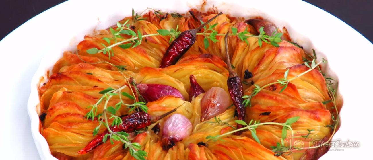 Праздничный ароматный картофель