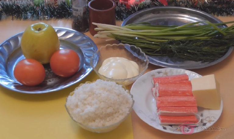 Подготавливаем овощи, моем и протираем бумажным полотенцем на сухо. Рис…