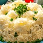 Салат «Снежные сугробы»