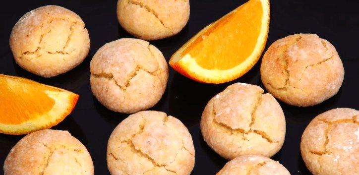 Апельсиновое печенье к чаю