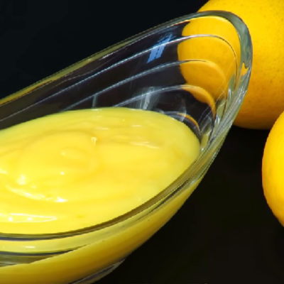 Лимонный крем к чаю