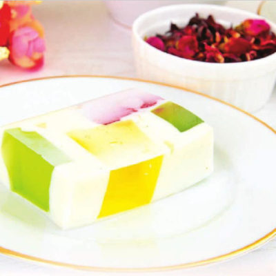 Десерт-желе «Битое стекло»